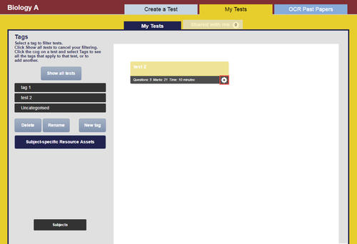 Help and FAQs » ExamBuilder